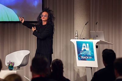 David Shing präsentiert auf der AI Masters 2019